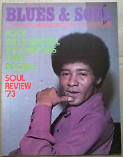 OVATIONS in BLUES&SOUL Mag.No126Jan'74+WILLIE MITCHELL+KOOL+3 DEGREES-colour.Ex!