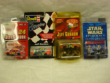 JEFF GORDON 1996 - 2002 1:64 SCALE DIECAST COLLECTION - LOT OF 4