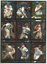 Fleer Metal Basebal Card Sheet! *New York Yankees/Atlanta Braves/ K C Royals