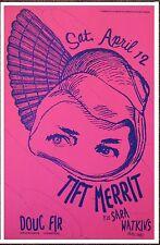 Tift Merritt 2008 Gig Poster Portland Oregon Concert