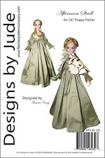 "Afternoon Stroll Doll Clothes Sewing Pattern 16"" Poppy & Tullabelle Integrity"