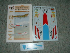 Eagle Strike 1/32  Decals 32033 Mig Fighters of World Part II   EE