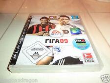 FIFA 09 (PS3), komplett mit Spielanleitung