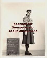 JENNIFER JONES~ORIGINAL TEST PHOTOGRAPH ~COSTUME~CLUNY BROWN~1946