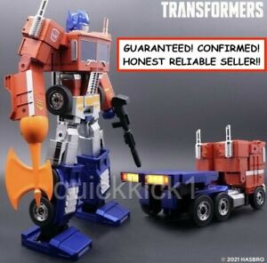 OPTIMUS PRIME AUTO-CONVERTING TRANSFORMERS ROBOSEN HASBRO! GUARANTEED! CONFIRMED