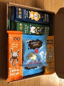 Mini Moos Selection Cheeky Orange Original Bunnycomb Minty Moo Drops X10