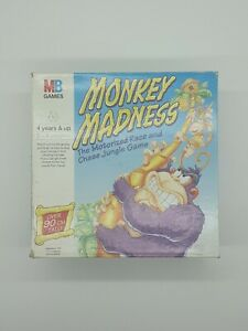 Monkey Madness MB Games motorised board game 1996