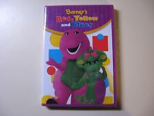 BARNEY'S RED, YELLOW AND BLUE! DVD - NEW IN ORIGINAL SEALED PACKAGE