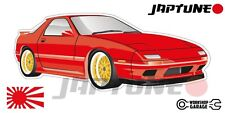 Mazda-RX-7-series-4   - Red with Gold Rims - JDM - JapTune Brand