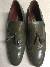 DONATO MARRONE Men's 7/1/2 D LEATHER DRESS SHOES  NICE