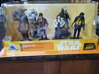 Disney Solo: A Star Wars Story Han Solo 6 Piece Figurine Set
