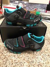 Fizik Shoes Women's Mountain M6B Donna BOA Black/Anthracite/Green Size 37 6 3/4