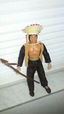 "Mego Sitting Bull Indian Figue 8"" original WGSH western heroes"