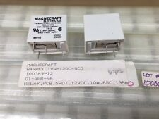 (Qty = 1) W49RE1C1VW-12DC-SCO Magnecraft, 12vdc 10A SPDT, Dry Reed Relay