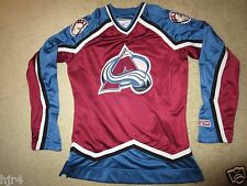 Colorado Avalanche CCM Hockey Jersey Womens XS X-Small