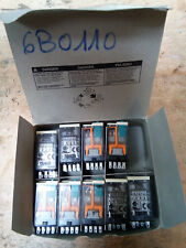 Lot de 9 mini relais 24v DC Schneider