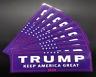 Trump Keep America Great 2020 Bumper Sticker 1 One NEW GIFT Make Again