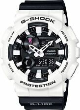 CRAZY DEAL NEW CASIO G-SHOCK GAX100B-7A G-LIDE WHITE/BLACK ANA-DIGI,200M WR