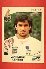 Panini EURO 92 N. 248 ITALIA LENTINI NEW WITH BLACK BACK TOP MINT!!