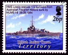 HMS Lossie (K303) la rivière classe Frégate WWII Royal Navy navire de guerre navire cachet