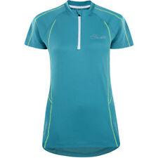 Polyester Short Sleeve Women Cycling Jerseys with Half Zipper