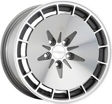 16X9 Klutch KM16 4x100mm ET18 Gunmetal Machined Wheels Fits Ef Ek Eg Miata Mr2