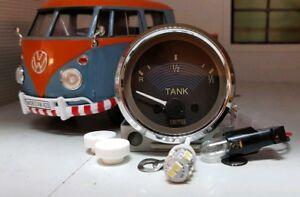 VDO Smiths Fuel Gauge VW T2 Split <1967 12v Dash Panel Gauge & LED bulb