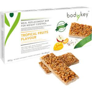 Amway bodykey Riegel Tropische Früchte | 14x Mahlzeitersatz | Nutrilite | Amava