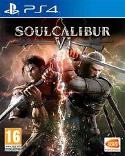 Soul Calibur VI (PS4) Marca Nueva Y Sellada-En Stock-Envío rápido
