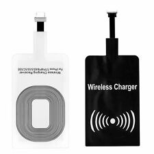 QI Wireless Charger Receiver For Samsung Huawei Android iPhone Type-C Micro LOT