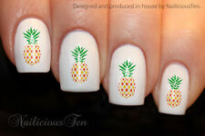 Pineapple Nail Wrap Colour Decal Water Transfer Ananas 21pcs ST8175