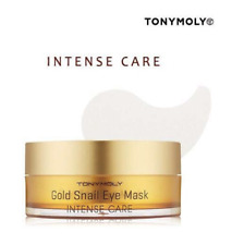 [Tonymoly] Intense Care Gold Snail Eye Mask 60EA 90g, Eye Patch / Korea-Beauty