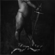 Erwin Olaf Original Own XXL Photo Print 50x70cm Chessmen IV 1988 B&W Male Nude