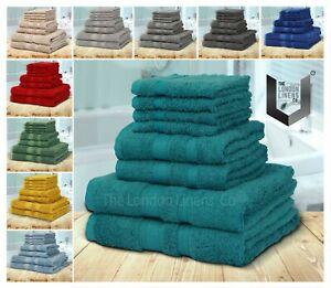 8 pc BAMBOO Towel Bale Set LUXURY Egyptian Natural 60% Bamboo 40% Cotton NELLA