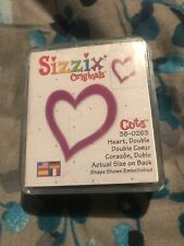 # Sizzix - Heart Double Small Green  Die 38-0263