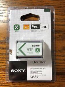 Genuine Original Sony NP-BX1 1240mAh Battery for Cyber-Shot Cameras NEW!