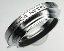 Konica adapter allow Nikon SLR Lenses on Konica AR Bodies ......... Minty