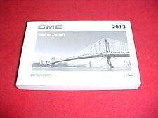 2013 NEW ORIGINAL GMC SIERRA DENALI OWNERS MANUAL SERVICE GUIDE BOOK 13 GLOVEBOX