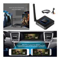 Miracast Q4 WiFi Display Dongle Car Home Mirror Link Box HDMI AV TV DLNA 1080P