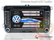 NAVIGATORE AUTORADIO GPS VOLKSWAGEN GOLF PASSAT TIGUAN POLO SCIROCCO DVD USB MP3