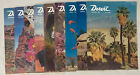 Desert Magazines, Lot of 10 Vintage Issues, 1957