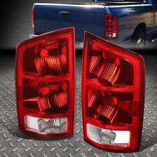 FOR 02-06 DODGE RAM 1500 2500 3500 PICKUP TRUCK LED TAIL LIGHT BRAKE LAMPS RED