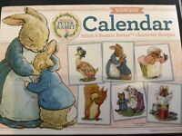 Beatrix Potter Peter Rabbit Calendar With 6 Cross Stitch Charts