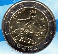 "EURO GRECE 2002  2 € NEUVE AVEC LETTRE  ""S""   NEUVE NON CIRCULEE"