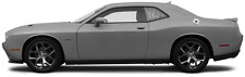 Rear Side Window Simulate Louver Graphics Decals for Dodge Challenger 15-Present