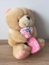 """FOREVER Friends-Peluche Giocattolo morbido 6"""" - Teddy Bear holding Fiori-perfetto Mamma"""