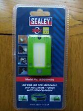 Sealey LED360HTG Rechargeable Head / Multi-use Torch 2W COB LED Movement Sensor