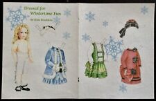 Dressed For Wintertime Fun Doll Mag. Paper Doll, 2009, Kim Brecklein Artist