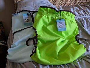 2 NEW dog diaper diapers CUTE BONE brand size XL
