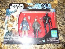 Star Wars Rogue One 1 Walmart Exclusive Sergeant JYN ERSO K-2SO Captain ANDOR